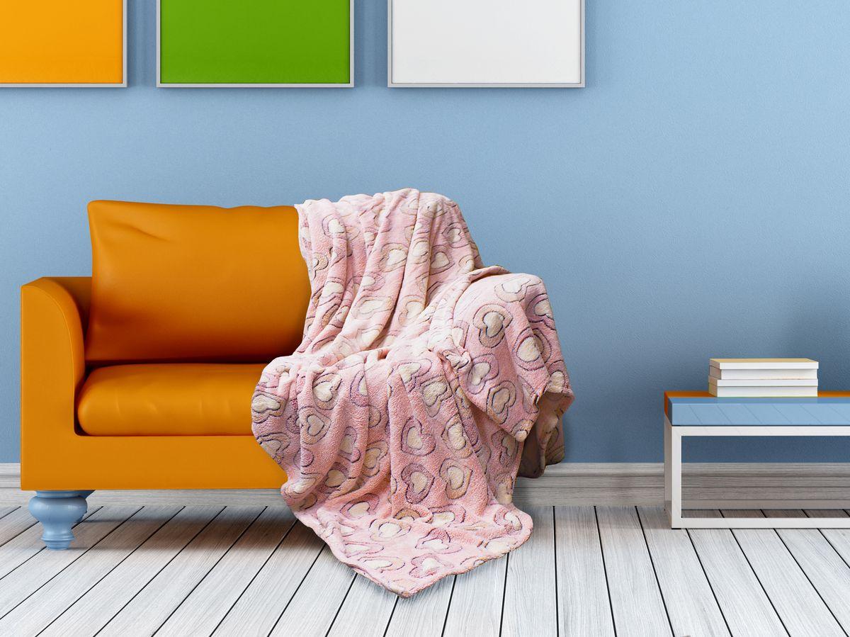 Плед Buenas Noches Bamboo, цвет: розовый, персиковый, 150 х 200 см69544Плед Buenas Noches - это идеальное решение для вашего интерьера! Он порадует вас легкостью, нежностью и оригинальным дизайном! Плед выполнен из 100% полиэстера и оформлен изображением разноцветных камешков. Полиэстер считается одной из самых популярных тканей. Это материал синтетического происхождения из полиэфирных волокон. Изделия из полиэстера не мнутся и легко стираются. После стирки очень быстро высыхают. Плед - это такой подарок, который будет всегда актуален, особенно для ваших родных и близких, ведь вы дарите им частичку своего тепла! Продукция торговой марки Buenas Noches сделана с особой заботой, специально для вас и уюта в вашем доме! Состав: 100% полиэстер.