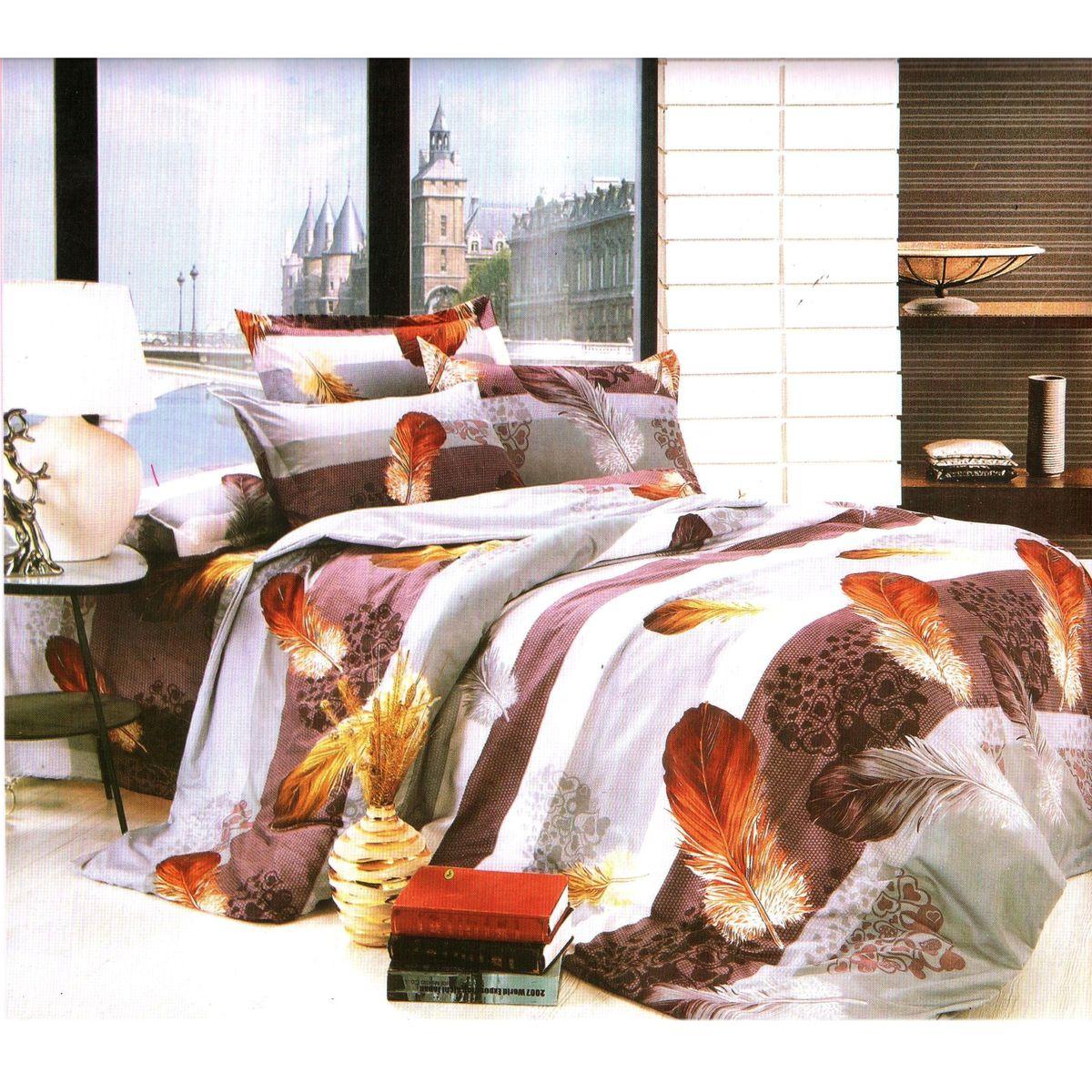 Комплект белья Этель, 1,5-спальный, наволочки 70x70. 103561103561