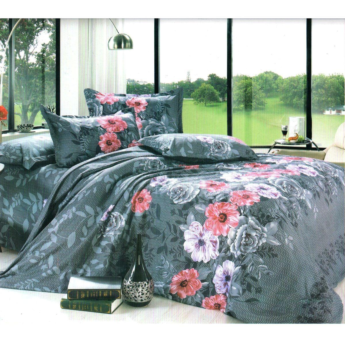 Комплект белья Этель, 1,5-спальный, наволочки 70x70. 824943824943