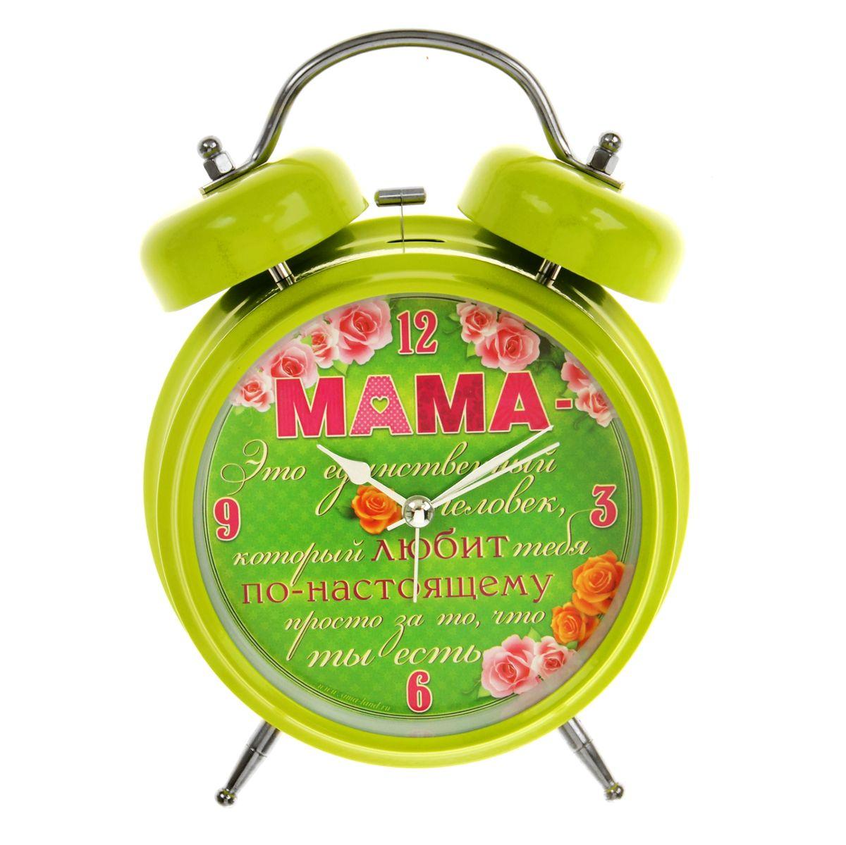 Часы-будильник Sima-land Мама - незаменимый человекMRC 4141 P schwarzКак же сложно иногда вставать вовремя! Всегда так хочется поспать еще хотя бы 5 минут и бывает, что мы просыпаем. Теперь этого не случится! Яркий, оригинальный будильник Sima-land Мама - незаменимый человек поможет вам всегда вставать в нужное время и успевать везде и всюду. Такой будильник также станет прекрасным подарком. На задней панели будильника расположены переключатель включения/выключения механизма и два колесика для настройки текущего времени и времени звонка будильника. Также будильник оснащен кнопкой, при нажатии и удержании которой подсвечивается циферблат.Будильник работает от 1 батарейки типа AA напряжением 1,5V (не входит в комплект).