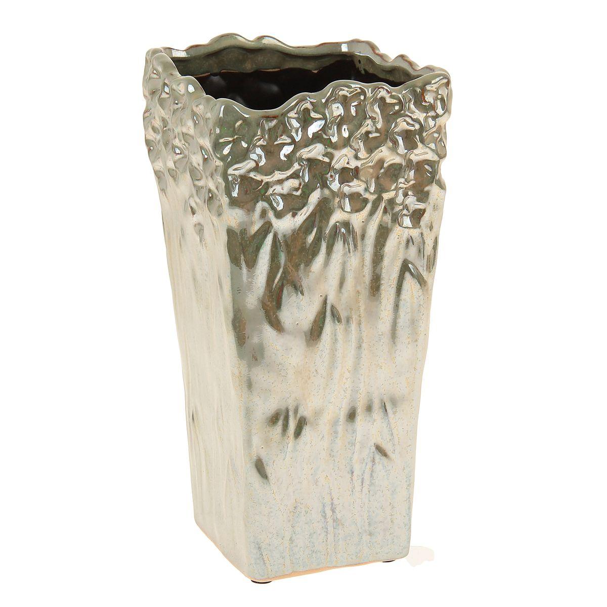 Ваза керамика перелив 23,5*12*12 см 863614863614Керамика