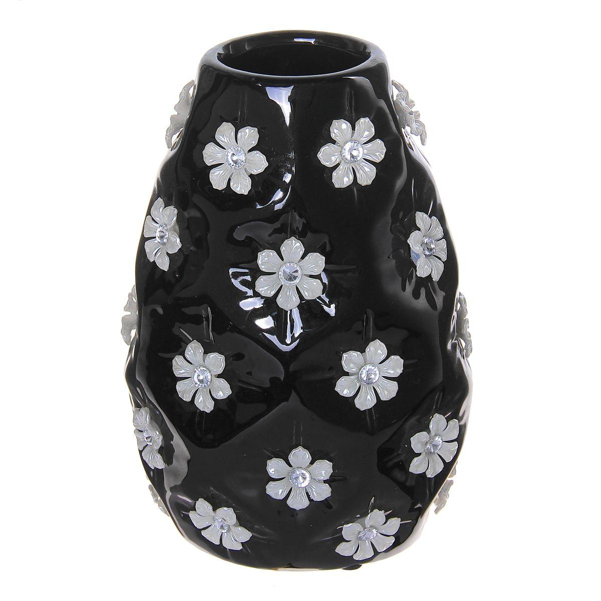 Ваза керамика цветочный дождь 19*13*10,5 см 866197