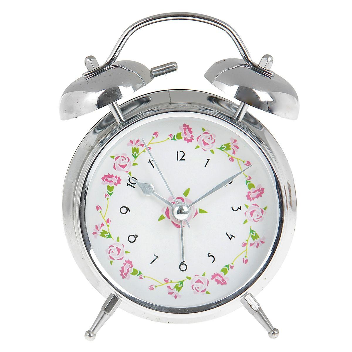 Часы-будильник Sima-land. 906609MRC 4141 P schwarzКак же сложно иногда вставать вовремя! Всегда так хочется поспать еще хотя бы 5 минут и бывает, что мы просыпаем. Теперь этого не случится! Яркий, оригинальный будильник Sima-land поможет вам всегда вставать в нужное время и успевать везде и всюду. Время показывает точно и будит в установленный час. Будильник украсит вашу комнату и приведет в восхищение друзей. На задней панели будильника расположены переключатель включения/выключения механизма и два колесика для настройки текущего времени и времени звонка будильника. Также будильник оснащен кнопкой, при нажатии и удержании которой, подсвечивается циферблат.Будильник работает от 2 батареек типа AA напряжением 1,5V (не входят в комплект).