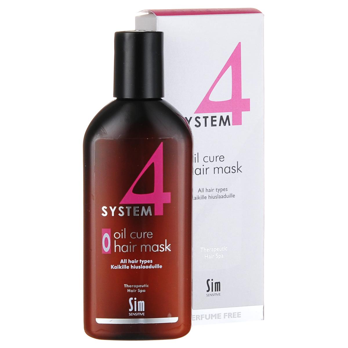 SIM SENSITIVE Терапевтическая маска О SYSTEM 4 Oil Cure Hair Mask «O» , 215 мл5306КАК РАБОТАЕТ: салициловая кислота работает как пилинг, глубоко очищая поверхность кожи головы от всего лишнего, а климбазол и пироктон оламин убивают грибок и восстанавливают микрофлору кожи головы. Таким образом, маска готовит кожу головы к «приему» питательных и стимулирующих веществ из био-ботанического шампуня и био-ботанической сыворотки, которые напрямую попадут в волосяные луковицы. Розмарин и ментол успокаивают кожу головы и стимулируют кровообращение. БОРЕТСЯ С: выпадением волос/редением волос перхотью грибком и бактериями раздражением кожи головы/зудом, псориазом, шелушением избыточным выделением кожного сала (себореей) плохой микроциркуляцией крови в коже головы