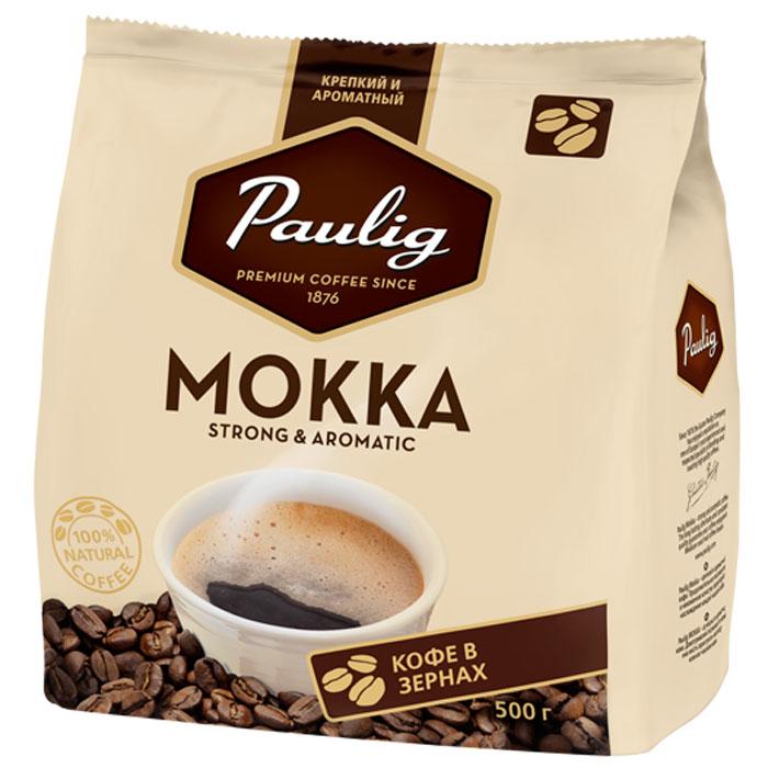 Paulig Mokka кофе в зернах, 500 г16670Крепкий и ароматный кофе, разработанный с учетом предпочтений российского потребителя. Крепкий кофе на каждый день, с выраженным бодрящим эффектом. Продолжительное послевкусие и неизменное качество гарантируют наслаждение каждой чашкой кофе.