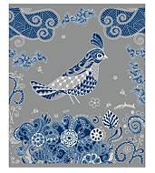 Тетрадь Полиграфика Сказочные птицы, цвет обложки: серебряный, 96 л37603Обложка:картон мелованный 170 г/м2. Блок: бумага офсетная 55 г/м2