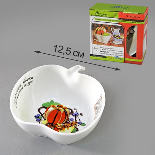 Форма для запекания Яблоки в шоколадной глазури 12,7*12,5*6 см цв.уп.598-095Форма для запекания Яблоки в шоколадной глазури 12,7*12,5*6 см цв.уп.