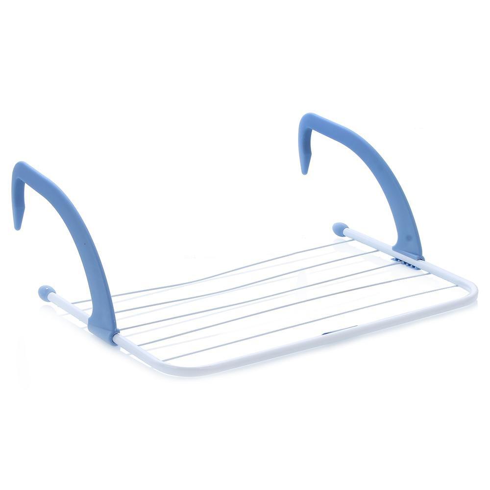 Сушилка для белья Gimi Airy10190900Сушилка для белья Gimi Airy может использоваться на батарее, балконе или окне. Изделие состоит из 5 стальных струн и пластиковых держателей, которые надежно крепятся к опоре. Сушилка для белья Gimi Airy компактно складывается, экономя место в вашей квартире.