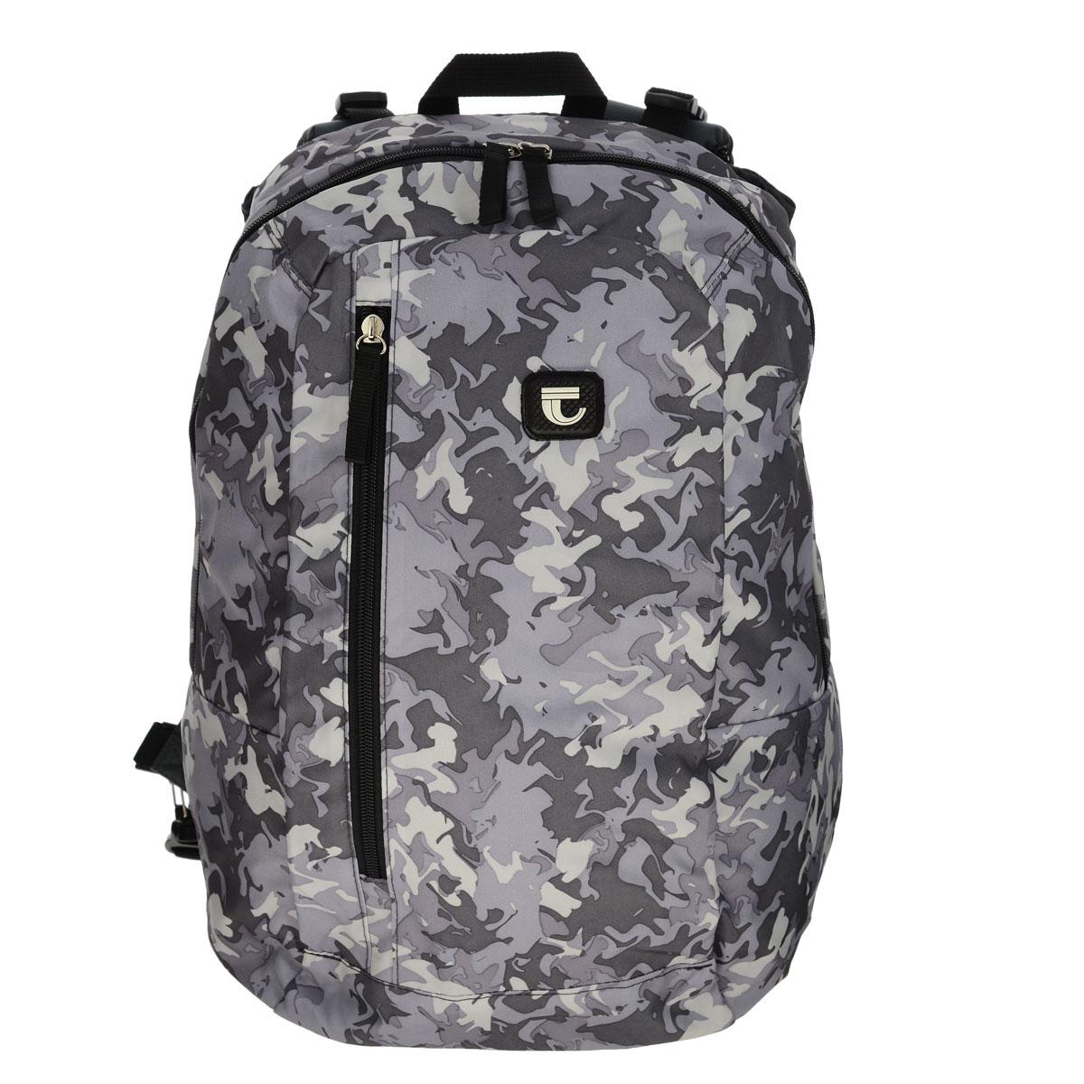 Рюкзак двойной Tiger, цвет: серыйOM-671-1/2Рюкзак Tiger изготовлен из качественного полиэстера, характеризующегося повышенной износостойкостью.Отстегивающаяся задняя дополнительная панель с регулируемыми лямками, позволяет менять расцветку рюкзака на камуфляжную. При изменении рюкзака, он будет иметь одно основное отделение на молнии, дополнительный карман на вертикальной молнии, регулируемые сверху и снизу задние лямки с сетчатой набивкой.