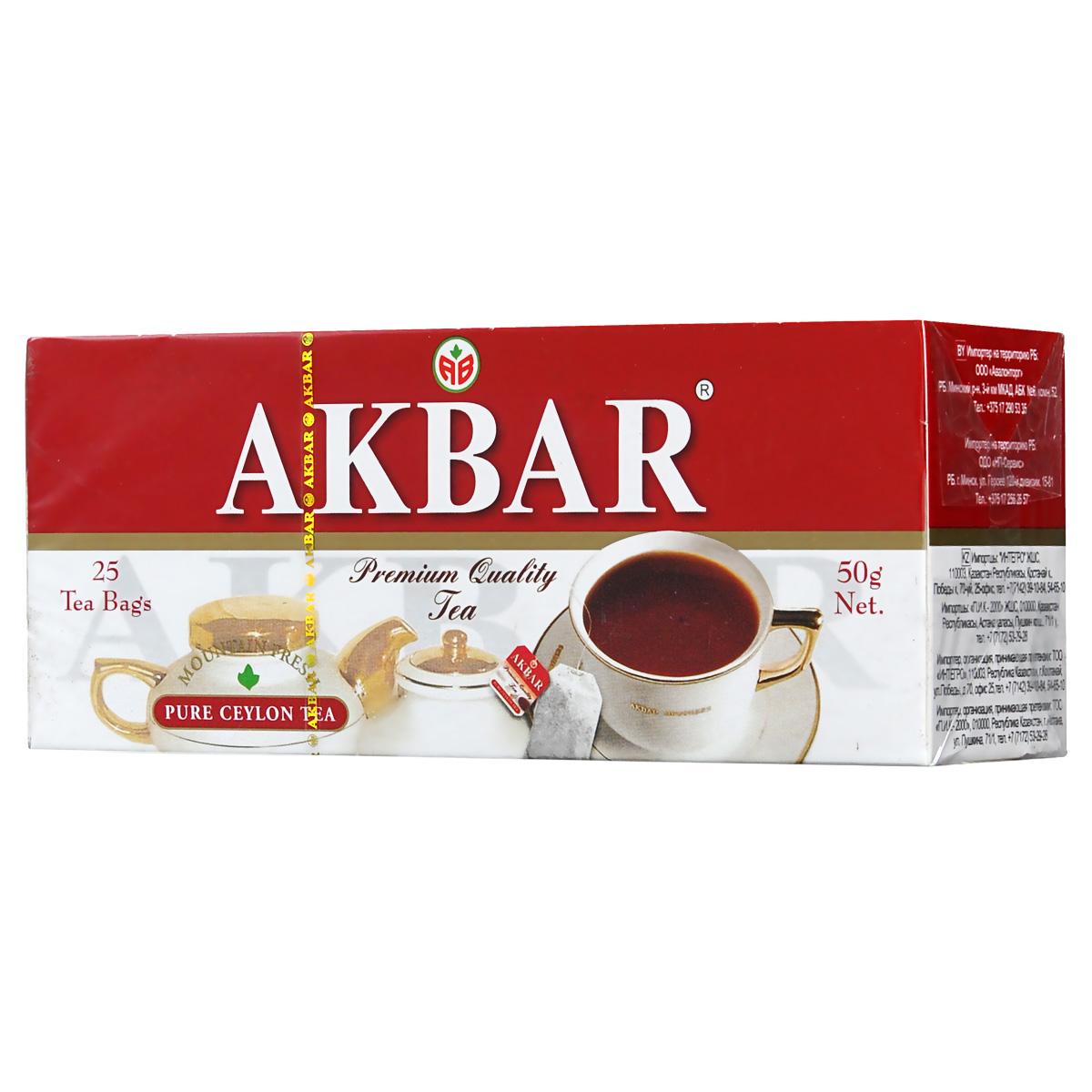 Akbar Mountain Fresh черный чай в пакетиках, 25 шт1050044Для производства великолепного черного чая Akbar Mountain Fresh используется лишь самое свежее и отборное сырье, которое получают с плантаций, расположенных в провинциях Kandy и Dimbula, на высоте от 2000 до 4000 футов над уровнем моря. Причем сортируется оно перед началом производства, а не после, как это принято у многих других компаний, что позволяет избегать смешивания соков нежных и грубых листьев при скручивании и, соответственно, понижения качества конечного продукта.