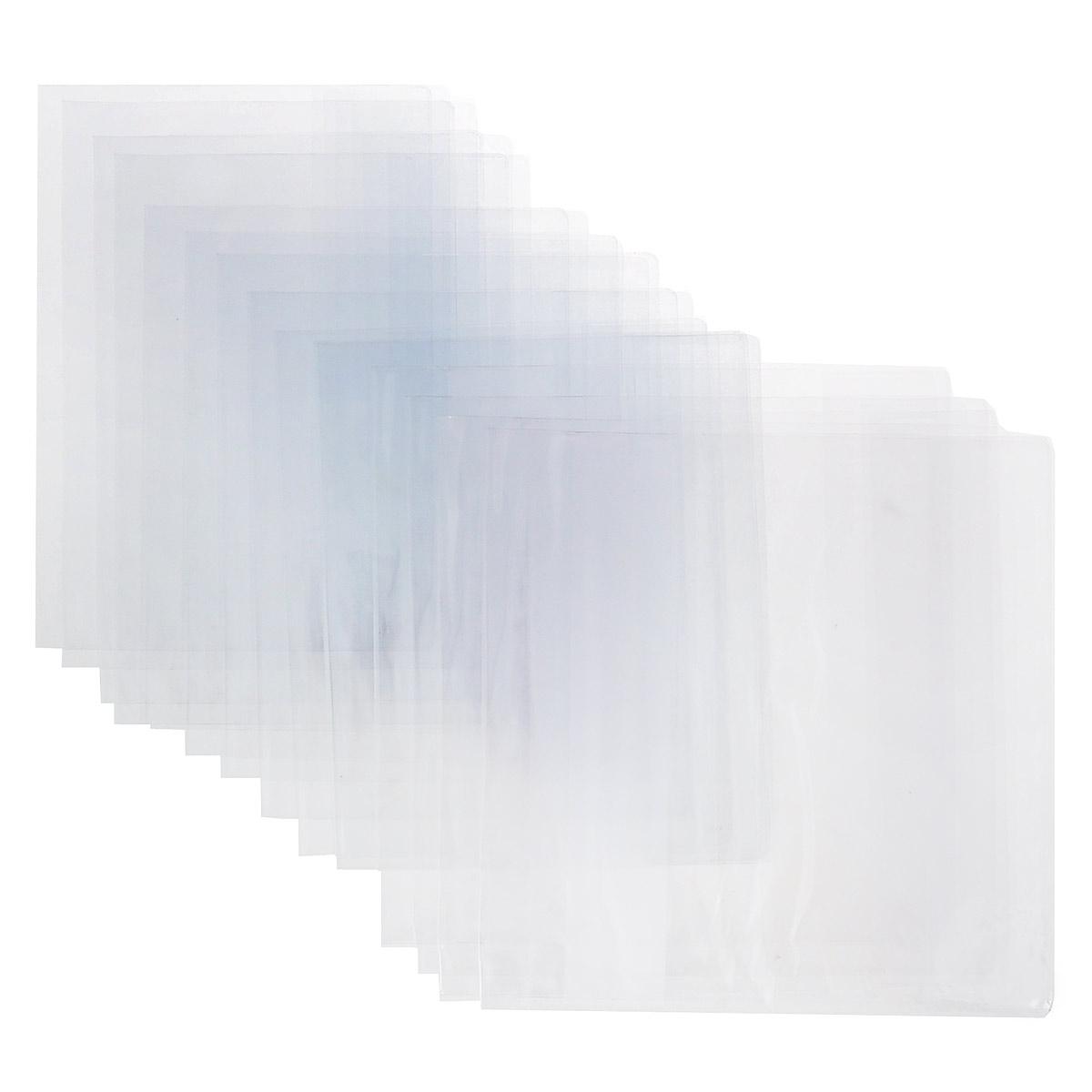 """Набор обложек для старших классов """"Брупак"""", цвет: прозрачный, 15 шт К10-02"""