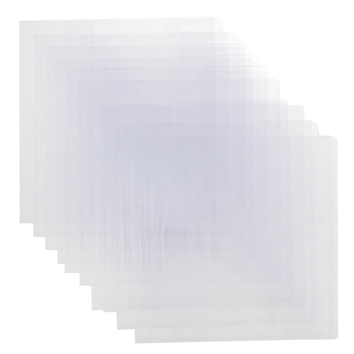 Набор обложек для учебников Брупак, цвет: прозрачный, 23 см х 46,5 см, 10 шт72523WDНабор цветных обложек для учебников Брупак предназначены для защиты книг от пыли, грязи и механических повреждений. Обложки с прозрачными клапанами.