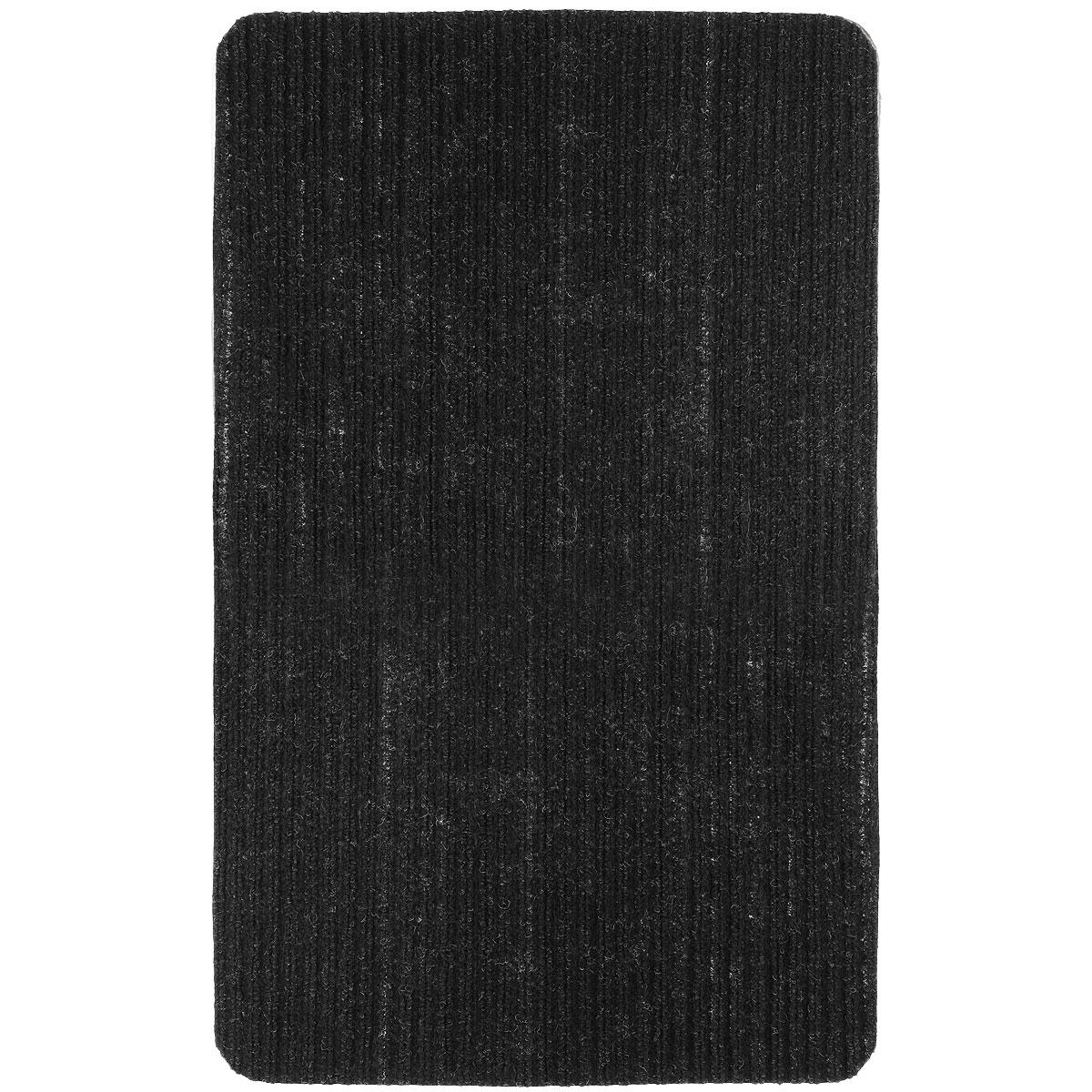 Коврик придверный Vortex Simple, цвет: черный, 50 см х 80 см22074_черныйПридверный коврик Vortex Simple выполнен из полимерных материалов. Он прост в обслуживании, прочный и устойчивый к различным погодным условиям. Такой коврик надежно защитит помещение от уличной пыли и грязи.