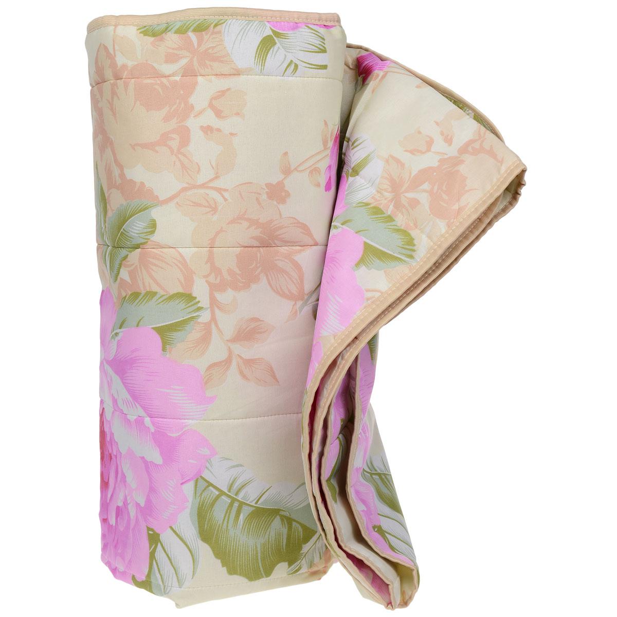 Одеяло летнее OL-Tex Miotex, наполнитель: полиэфирное волокно Holfiteks, цвет: зеленый, розовый, 172 х 205 смМХПЭ-18-1 бежевый, цветыЛегкое летнее одеяло OL-Tex Miotex создаст комфорт и уют во время сна. Чехол выполнен из полиэстера и оформлен красочным цветочным рисунком. Внутри - современный наполнитель из полиэфирного высокосиликонизированного волокна Holfiteks, упругий и качественный. Прекрасно держит тепло. Одеяло с наполнителем Holfiteks легкое и комфортное. Даже после многократных стирок не теряет свою форму, наполнитель не сбивается, так как одеяло простегано и окантовано. Не вызывает аллергии. Holfiteks - это возможность легко ухаживать за своими постельными принадлежностями. Можно стирать в машинке, изделия быстро и полностью высыхают - это обеспечивает гигиену спального места при невысокой цене на продукцию. Рекомендации по уходу: - Ручная и машинная стирка при температуре 30°С. - Не гладить. - Не отбеливать. - Нельзя отжимать и сушить в стиральной машине. - Сушить вертикально. Размер одеяла: 172 см х 205 см. Материал чехла: 100% полиэстер. ...