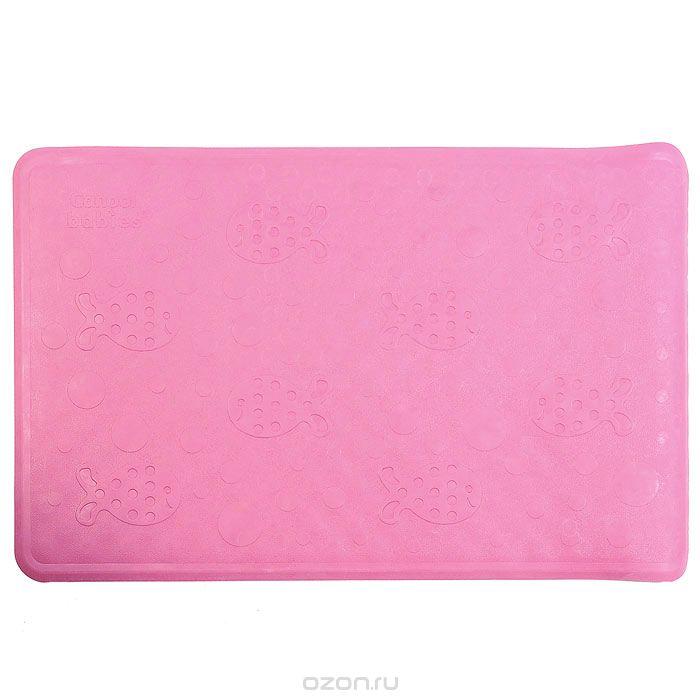 Canpol Babies Нескользящий коврик для ванны цвет розовый 34 см х 55 см9/051_розовыйНескользящий коврик Canpol Babies для ванны изготовлен из высококачественной мягкой резины и подходит для большинства детских ванночек, ванн и душевых кабин. Коврик крепится на дно ванны при помощи присосок, и предотвращает прямой контакт тела ребенка со скользким дном ванны. Характеристики: Размер коврика: 34 см х 55 см. Размер упаковки: 9 см х 36 см х 9 см. Уважаемые клиенты! Обращаем ваше внимание на ассортимент в цветовом дизайне товара. Поставка осуществляется в одном из нижеприведенных вариантов, в зависимости от наличия на складе.