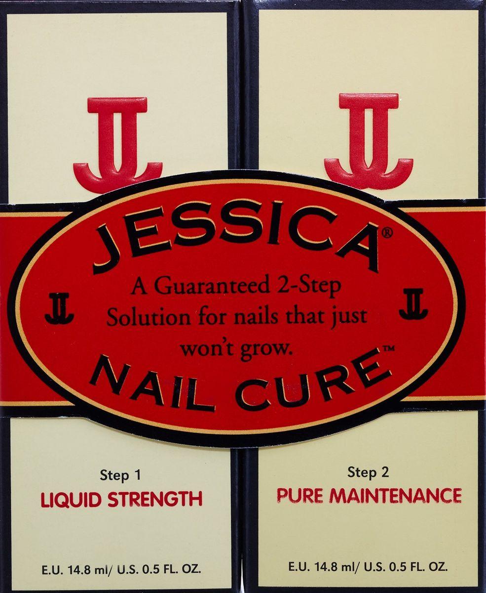 Jessica 2-х ступенчатое средство для ухода за ногтями Nail Cure Twin-Pack (LiquidStrength Жидкий укрепитель + Pure Maintenance Чистый увлажнитель) 2 х14,8мл1301210Nail Cure Twin-Pack Средство для ухода за проблемными ногтями предлагает двухшаговое лечение, которое позволит добиться видимых положительных результатов! Шаг 1 Liquid Strength Жидкий укрепитель + Шаг 2 Pure Maintenance Чистый увлажнитель