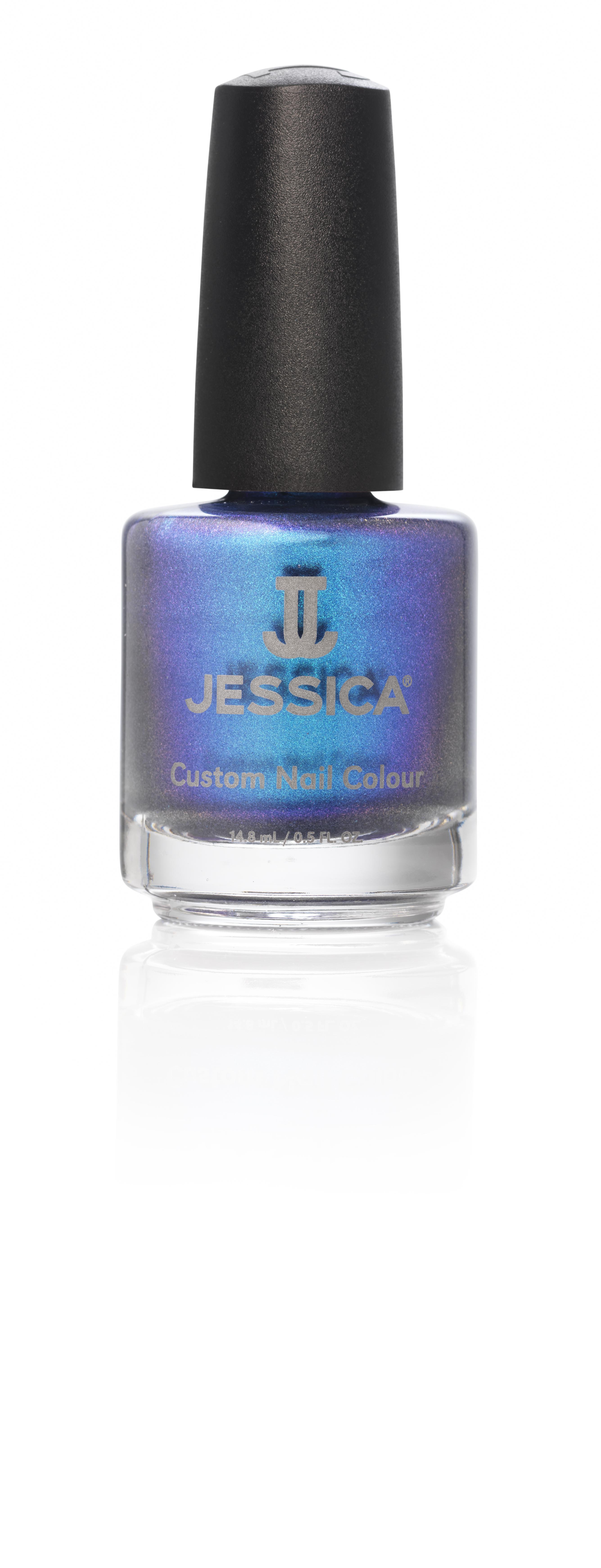 Jessica Лак для ногтей 945 Krishna Blue 14,8 мл1301207Лаки JESSICA содержат витамины A, Д и Е, обеспечивают дополнительную защиту ногтей и усиливают терапевтическое воздействие базовых средств и средств-корректоров.