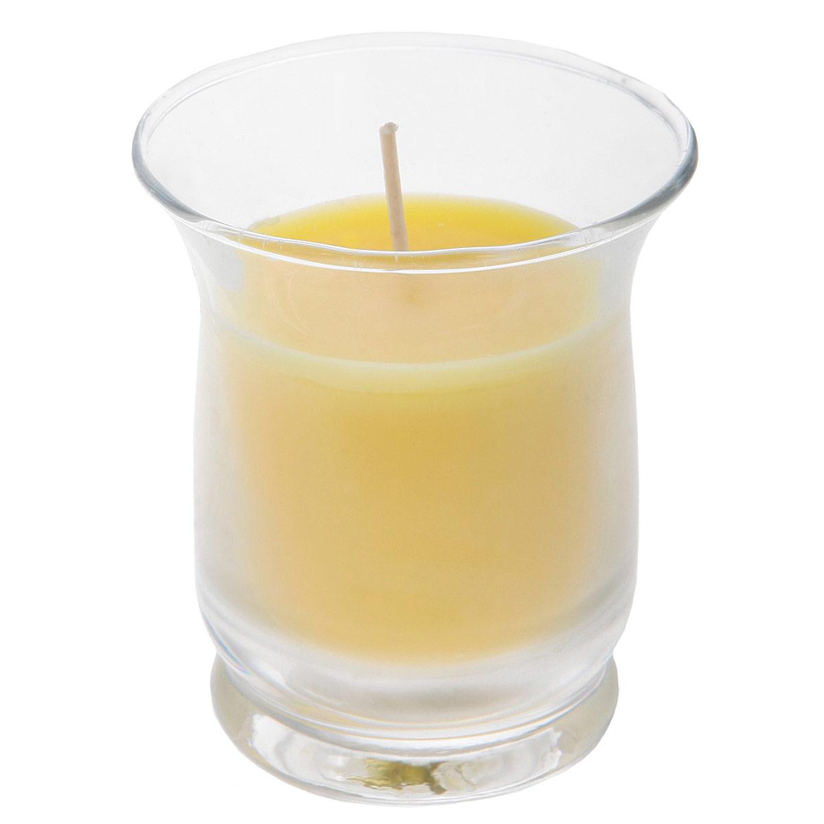 Свеча ароматизированная Sima-land Романтика, высота 7 см849617Ароматизированная свеча Sima-land Романтика изготовлена из воска и расположена в стеклянном стакане. Изделие отличается оригинальным дизайном и приятным фруктовым ароматом. Такая свеча может стать отличным подарком или дополнить интерьер вашей комнаты.