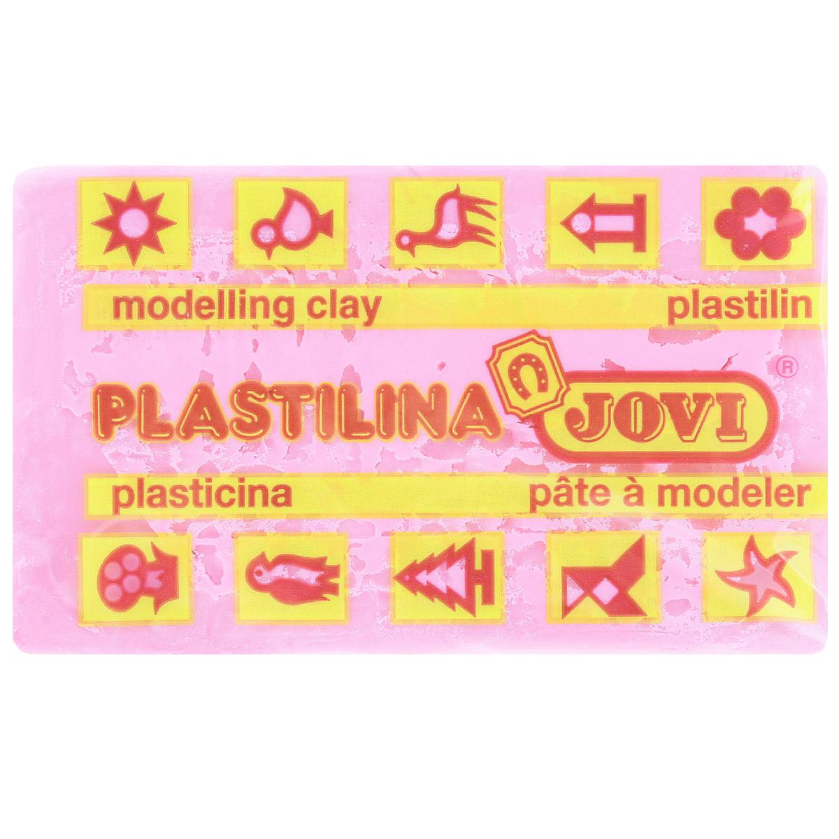 Jovi Пластилин флюоресцентный цвет ярко-розовый 50 г72523WDПластилин Jovi - лучший выбор для лепки, он обладает превосходными изобразительными возможностями и поэтому дает простор воображению и самым смелым творческим замыслам. Пластилин, изготовленный на растительной основе, очень мягкий, легко разминается и смешивается, не пачкает руки и не прилипает к рабочей поверхности. Пластилин пригоден для создания аппликаций и поделок, ручной лепки, моделирования на каркасе, пластилиновой живописи - рисовании пластилином по бумаге, картону, дереву или текстилю. Пластические свойства сохраняются в течение 5 лет.