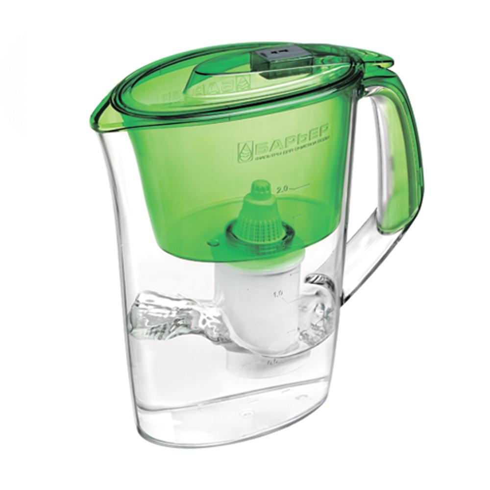 """Барьер / Barrier Фильтр-кувшин для воды Барьер """"Стайл"""", цвет: зеленый В082Р00"""