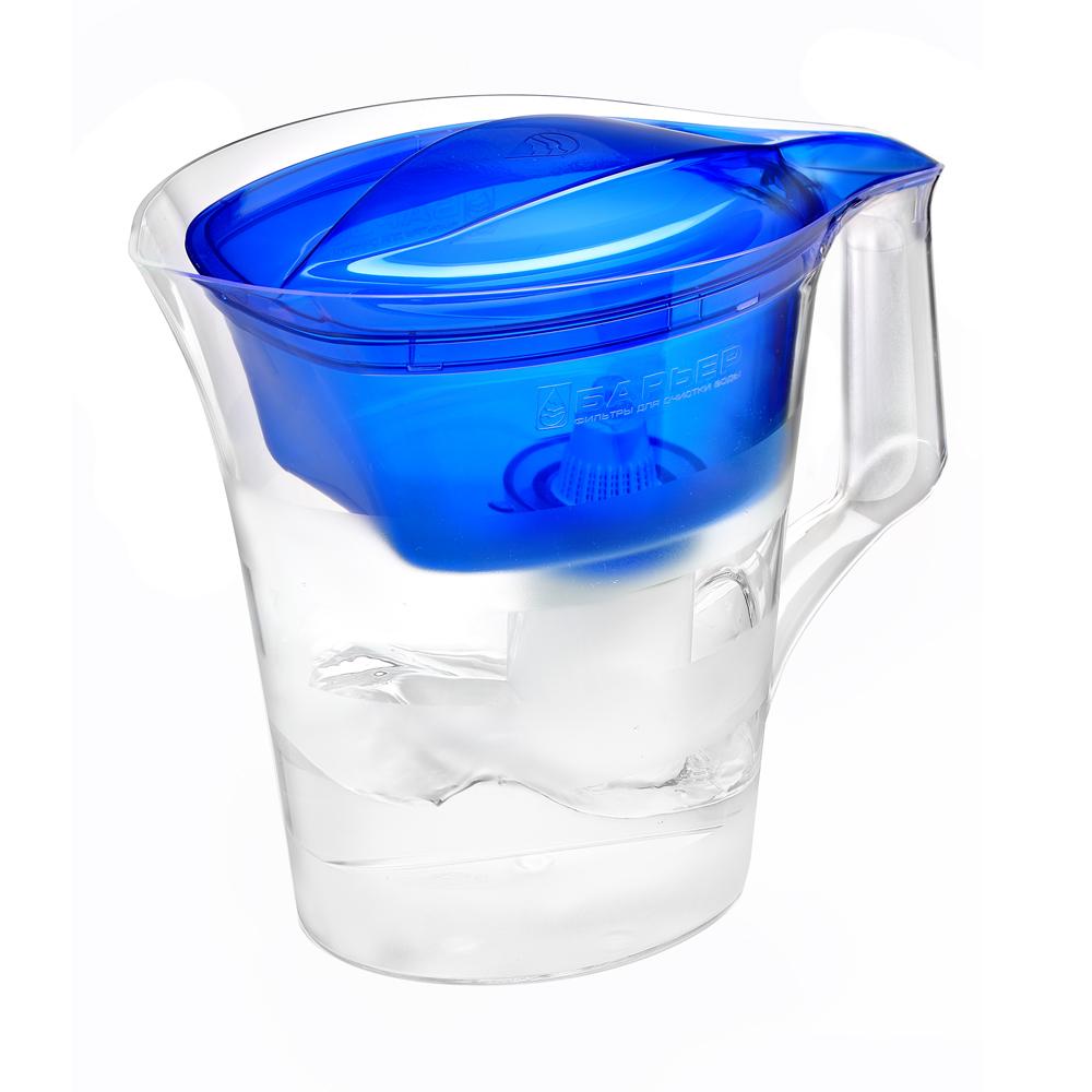 """Барьер / Barrier Фильтр-кувшин для воды Барьер """"Твист"""", цвет: синий В171Р00"""