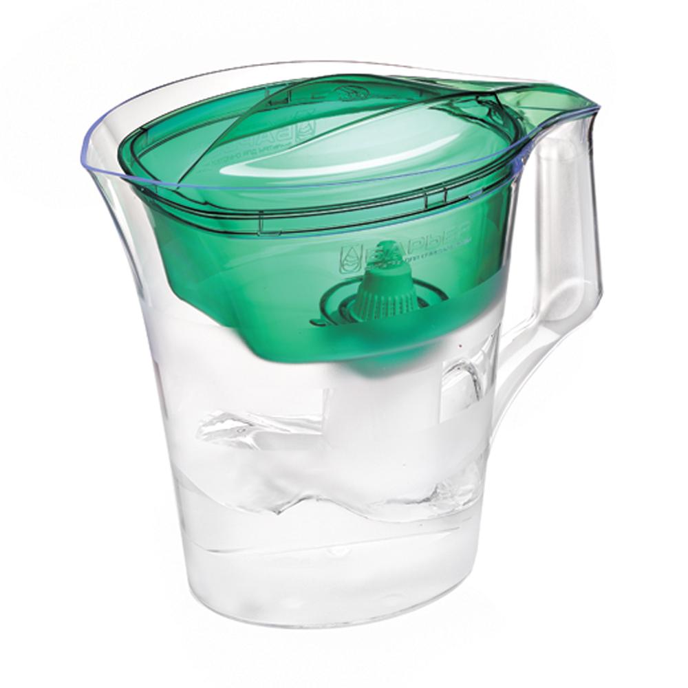 """Барьер / Barrier Фильтр-кувшин для воды Барьер """"Твист"""", цвет: зеленый В172Р00"""