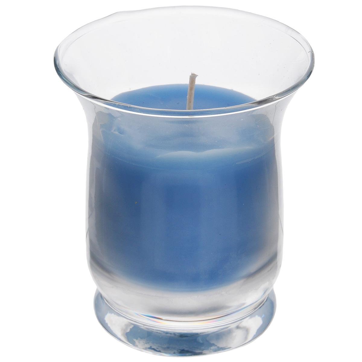 Свеча ароматизированная Sima-land Романтика, с ароматом океана, высота 7,5 смUP210DFАроматизированная свеча Sima-land Романтика изготовлена из воска и поставляется в стеклянном стакане. Изделие отличается оригинальным дизайном и приятным свежим ароматом. Такая свеча может стать отличным подарком или дополнить интерьер вашей комнаты.