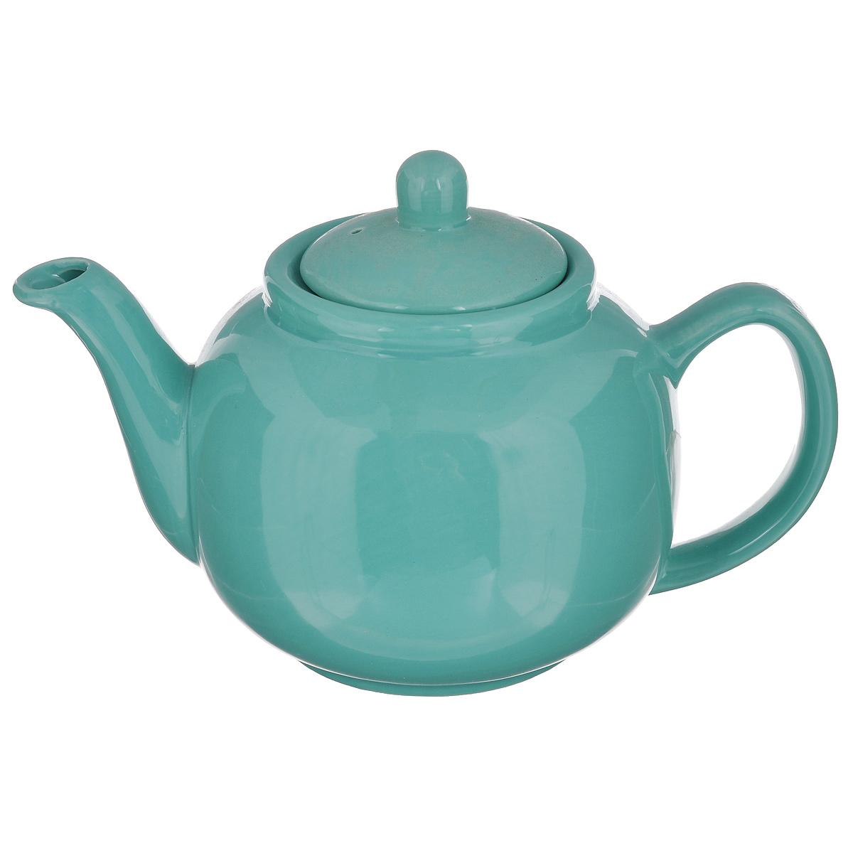 Чайник заварочный Loraine, цвет: зеленый, 940 мл24867Заварочный чайник Loraine изготовлен из высококачественной доломитовой керамики высокого качества без примеси ПФОК. Глазурованное покрытие делает поверхность абсолютно гладкой и легкой для чистки. Изделие прекрасно подходит для заваривания вкусного и ароматного чая, травяных настоев. Оригинальный дизайн сделает чайник настоящим украшением стола. Он удобен в использовании и понравится каждому. Можно мыть в посудомоечной машине и использовать в микроволновой печи. Диаметр чайника (по верхнему краю): 9 см. Высота чайника (без учета крышки): 11 см.