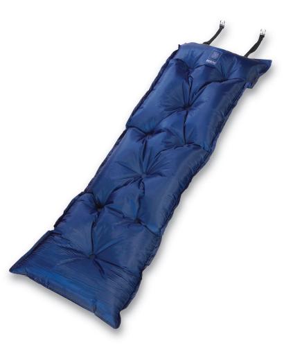 Коврик самонадувающийся Wanderlust Magic Air 25, цвет: синий, 188 см х 55 см х 2,5 см10936Самонадувающийся туристический коврик Wanderlust Magic Air 25 предназначен для теплоизоляции, например, между почвой и телом лежащего человека, а также для предохранения спального мешка от повреждений и влаги. Надувная подушка увеличит комфорт при длительном отдыхе. Очень простой в использовании, легко и быстро надувается, компактный и легкий. Имеется специально разработанный мощный клапан с высокой пропускной способностью, что позволяет коврику быстро наполняться воздухом или сдуваться. Для того, чтобы надуть коврик, просто откройте клапан, через пару минут коврик расправится и закройте клапан. Коврик готов к использованию! Он не даст вам замерзнуть и сделает отдых более комфортным даже на корнях или на камнях. Изделие отличается прочностью и износостойкостью.В комплекте есть мешок-чехол для переноски и хранения.