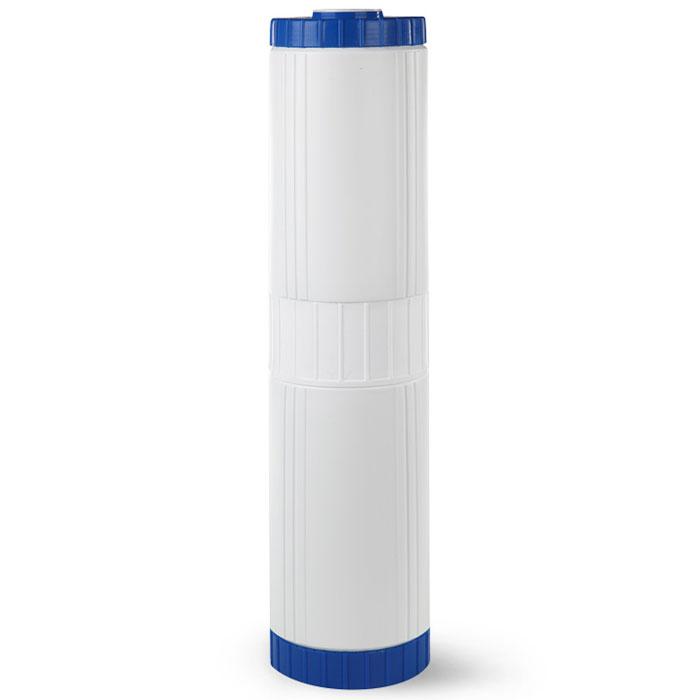 Картридж для обезжелезивания Гейзер БА 20 ВВ30607Картридж Гейзер БА 20ВВ. Используется для эффективного удаления избыточного растворенного железа (до 1 мг/л) и соединений других металлов методом каталитического окисления. Фильтрующая загрузка – природный материал Кальцит. Подходит для корпусов стандарта 20ВВ (Big Blue) любых производителей. Ресурс до 10000 л. (при содержании растворенного железа 1 мг/л).
