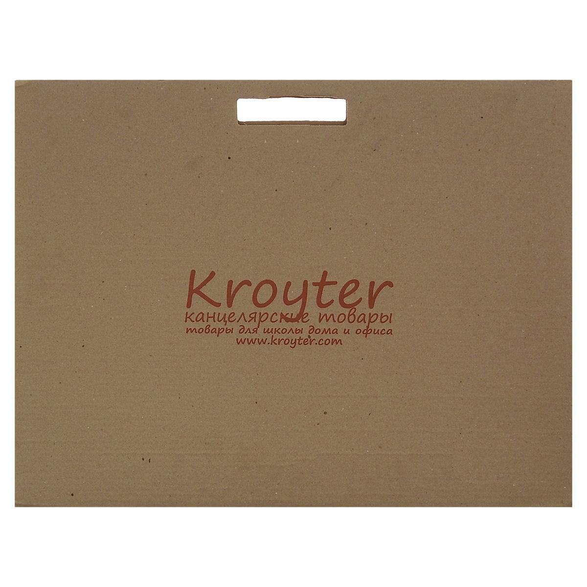 Папка для акварели Kroyter, 10 листов, формат А205312Папка для акварели Kroyter поможет овладеть этой техникой живописи. Бумага предназначена для рисования всеми видами водорастворимых красок, а также подойдет для рисования и художественно-графических работ карандашами, ручками и мелками. Не рекомендуется для масляных красок. Листы рекомендованы для массового использования, так как не предъявляет специальных знаний при ее использовании. Обложка выполнена из гофрированного картона в виде папки переноски с ручками. Такой вариант позволяет переносить бумагу без повреждений. Плотность: 180 г/м2.