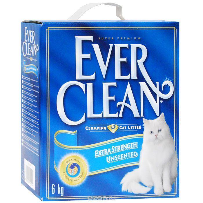Наполнитель для кошачьего туалета Ever Clean Extra Strength Unscented, комкующийся, 6 кг440065Наполнитель Ever Clean Extra Strength Unscented - это элитная серия высококачественных комкующихся наполнителей с уникальными свойствами. Наполнитель состоит из специально обработанной и очищенной от пыли глины. Гранулы наполнителя обладают уникальными впитывающими свойствами и содержат активный компонент, который уничтожает запах, связанный с развитием микробов. В ядро каждой гранулы помещен специальным образом обработанный активированный уголь для максимального контроля запахов. Гранулы наполнителя не только отлично впитывают, но и образуют крепкие трудноразбиваемые комки. Состав: глина, активированный уголь. Вес: 6 кг. Товар сертифицирован.