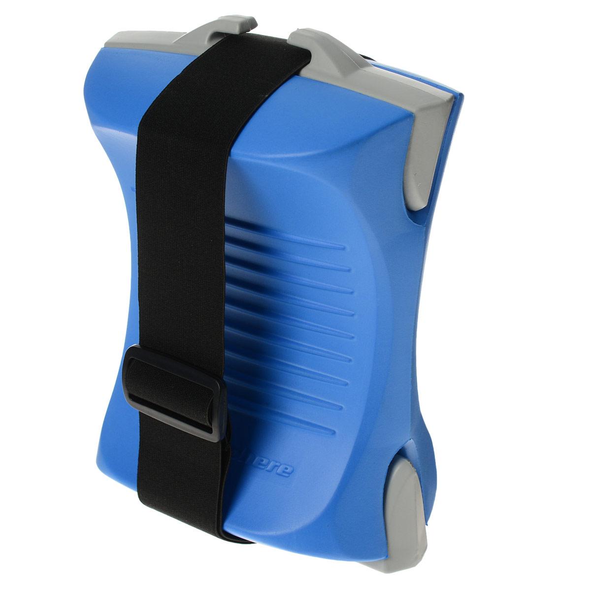 Колобашка Aqua Sphere ErgoBuoy, цвет: синийSP 301215Колобашка Aqua Sphere ErgoBuoy предназначена для фиксации ног и увеличении нагрузки на мышцы рук при плавании. Особенности колобашки: Эргономичный дизайн позволяет удобно и надежно зафиксировать ваши ноги. Опциональный ремень с быстроразъемной пряжкой. Съемные вставки позволяют менять плавучесть Изготовлено из прочного и хлороустойчивого полимера EVA.