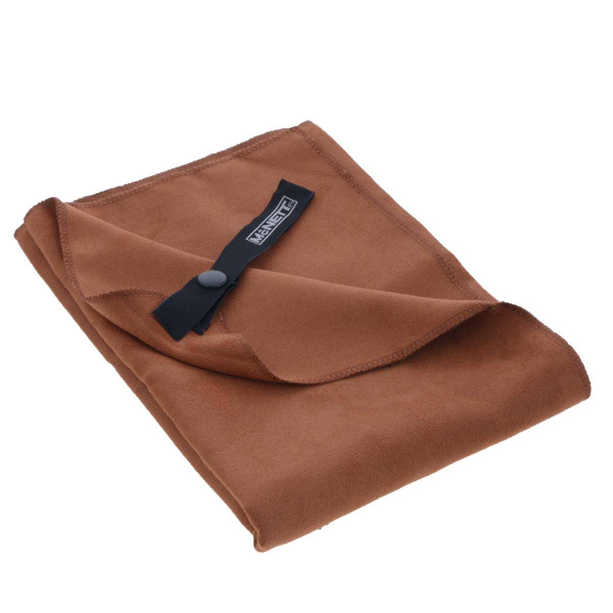 Полотенце McNett Outgo, цвет: терракот, 51 см х 102 смMN 68158Микроволоконное полотенце McNett Outgo - это специально разработанная высокоплотная вязаная чрезвычайно компактная ткань с абсолютно уникальными впитывающими и чистящими свойствами. Сверхтонкие (0.2 денье) микроволоконные сплетения быстро сохнут - 90% воды удаляется при ручном отжиме. Приятное на ощупь, обладающее уникальными свойствами микроволокон, полотенце McNett Outgo идеально подойдет любителям различных поездок, походов и водных видов спорта. В комплекте удобный чехол, выполненный из сетки с водоотталкивающей подкладкой.