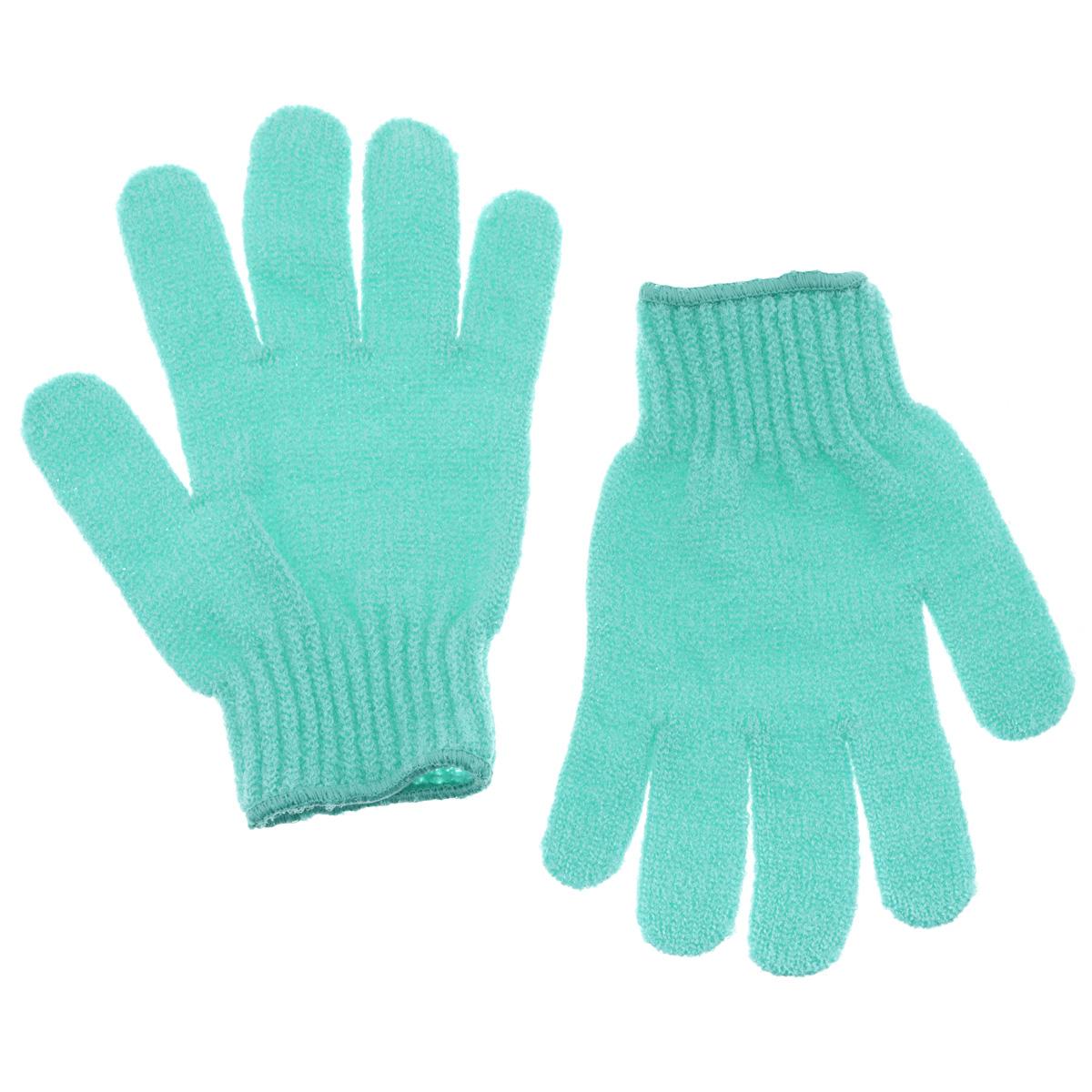 Riffi Перчатки для пилинга, цвет: светло-зеленый615_светло-зеленыйЭластичные безразмерные перчатки Riffi обладают активным антицеллюлитным эффектом и отличным пилинговым действием, тонизируя, массируя и эффективно очищая вашу кожу. Riffi освобождает кожу от отмерших клеток, стимулирует регенерацию. Эффективно предупреждают образование целлюлита и обеспечивают омолаживающий эффект. Кожа становится гладкой, упругой и лучше готовой к принятию косметических средств. Интенсивный и пощипывающе свежий массаж тела с применением Riffi стимулирует кровообращение, активирует кровоснабжение, способствует обмену веществ. В комплекте 1 пара перчаток. Характеристики: Материал: 100% полиакрил. Размер перчатки (в нерастянутом виде): 17,5 см x 12,5 см. Артикул: 615.