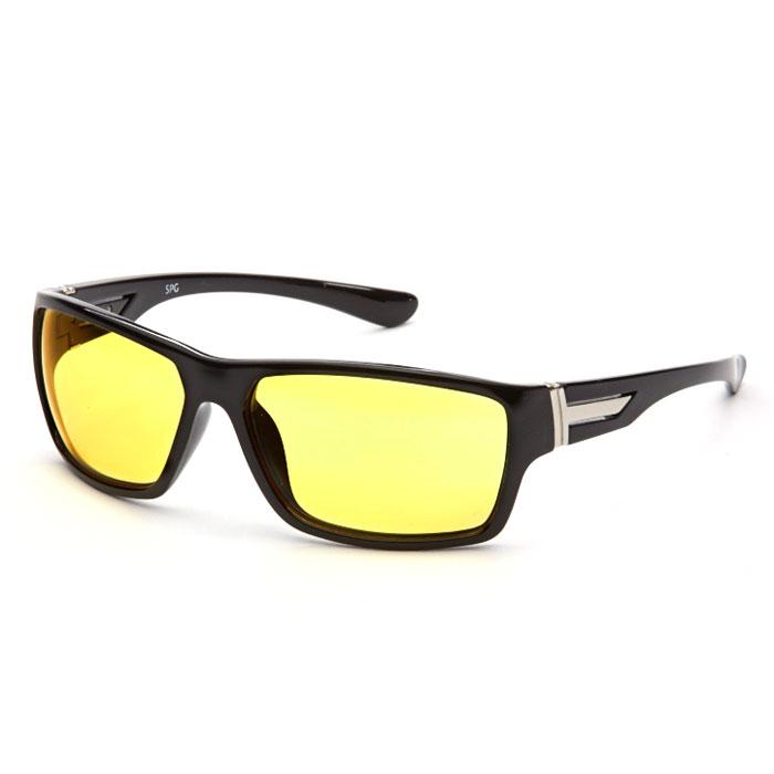 SP Glasses AD082 Premium, Black водительские очкиFM-B875-SСсрВодительские очки SP Glasses AD082 Premium подарят комфорт вашим глазам во время езды на автомобиле. Очки значительно улучшат видимость в дороге при непогоде и снижают нагрузку на глаза. Даже длительная дорога в этих очках будет менее утомительной. В них также рекомендуется ездить в вечернее и ночное время, благодаря тому очки повышают контрастность и помогают лучше ориентироваться во время тумана или дождя. При этом они отлично блокируют ультрафиолетовые лучи (UV 400).Наносники: нерегулируемые