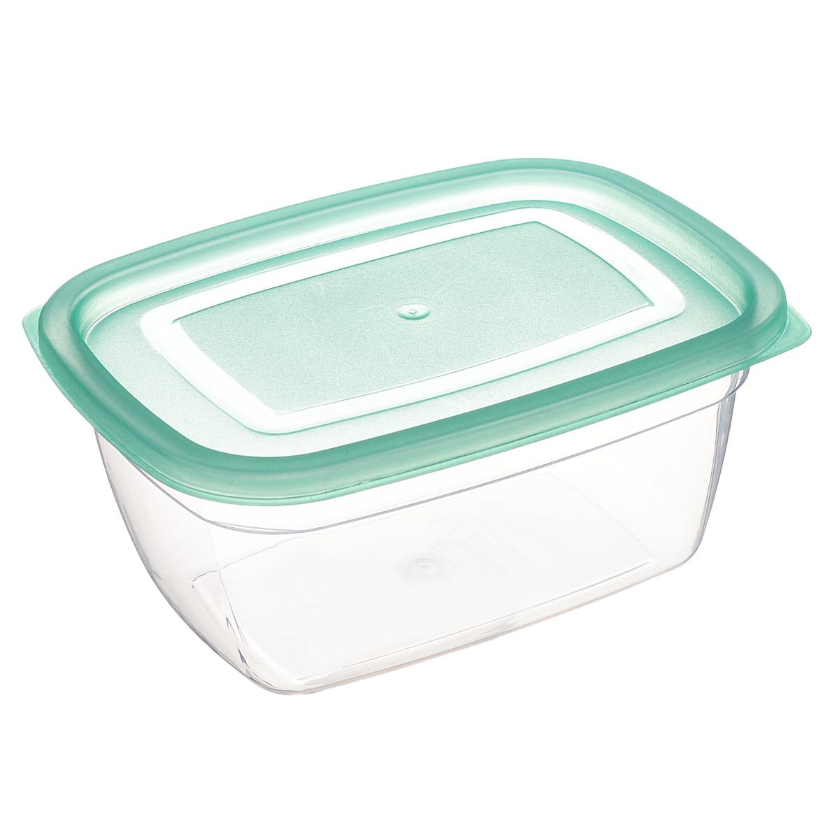 Контейнер Dunya Plastik, цвет: бирюзовый, 0,95 л30082 бирюзовыйКонтейнер Dunya Plastik изготовлен из высококачественного пищевого пластика, который выдерживает температуру от -40°С до +100°С. Контейнер безопасен для здоровья, не содержит BPA. Контейнер имеет прямоугольную форму и оснащен плотно закрывающейся крышкой. Изделие подходит для контакта с пищевыми продуктами. Можно мыть в посудомоечной машине. Размер контейнера (с учетом крышки): 17 см х 12,5 см х 7,5 см.