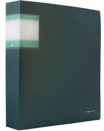 Папка с файлами, 80ф., А4, 1.1мм, PERLEN , карман, зеленый Metallic арт.291980-75 ед.изм.ШтCD-99S-203_оранжевыйСерия: PERLEN