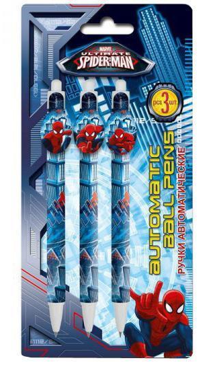 Набор из 3-х шариковых ручек Spider-man ClassicSMCB-US1-122-BL3