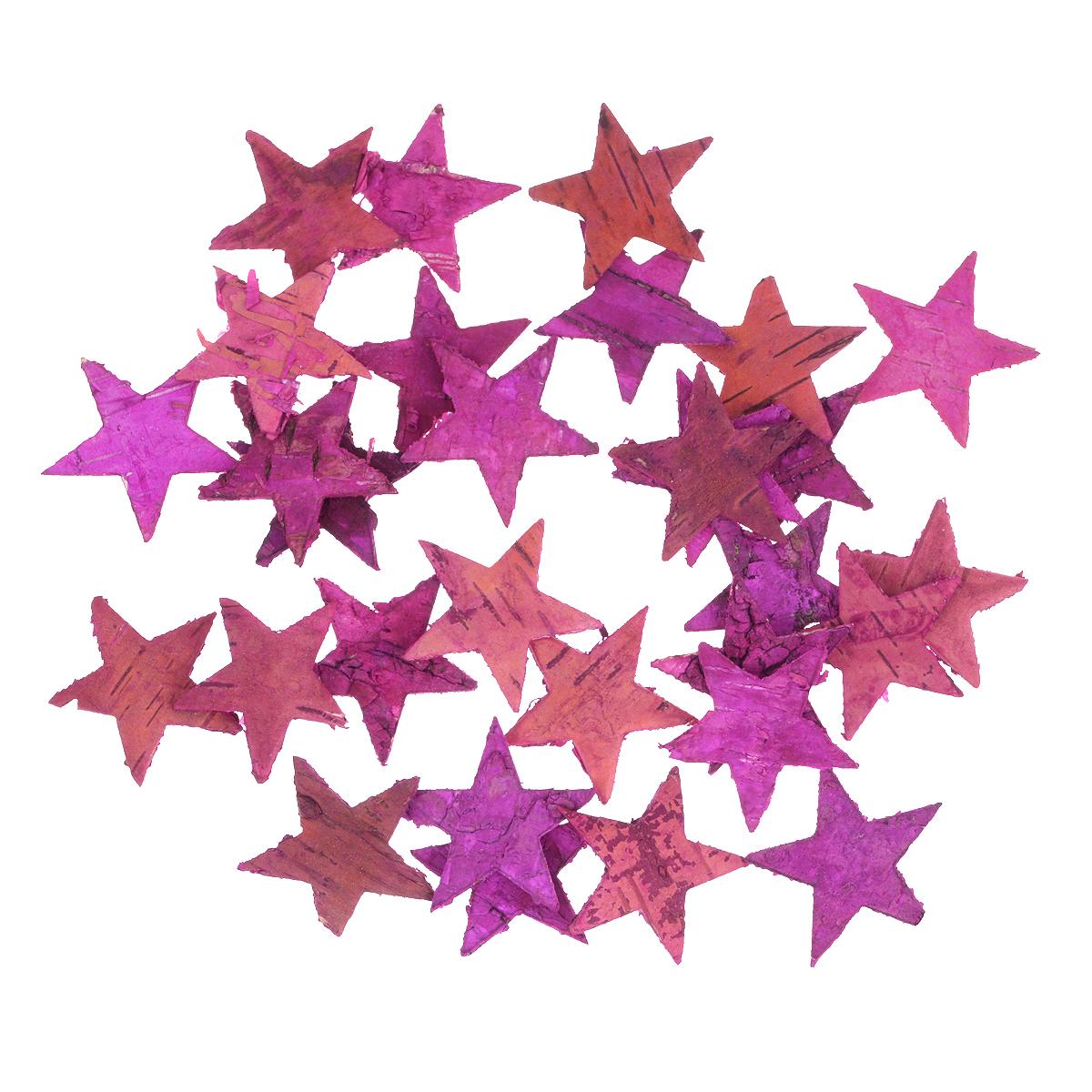 Декоративный элемент Dongjiang Art Звезда, цвет: розовый, 30 шт7709006Декоративный элемент Dongjiang Art Звезда, изготовленный из натуральной коры дерева, предназначен для украшения цветочных композиций. Изделие можно также использовать в технике скрапбукинг и многом другом. Флористика - вид декоративно-прикладного искусства, который использует живые, засушенные или консервированные природные материалы для создания флористических работ. Это целый мир, в котором есть место и строгому математическому расчету, и вдохновению.