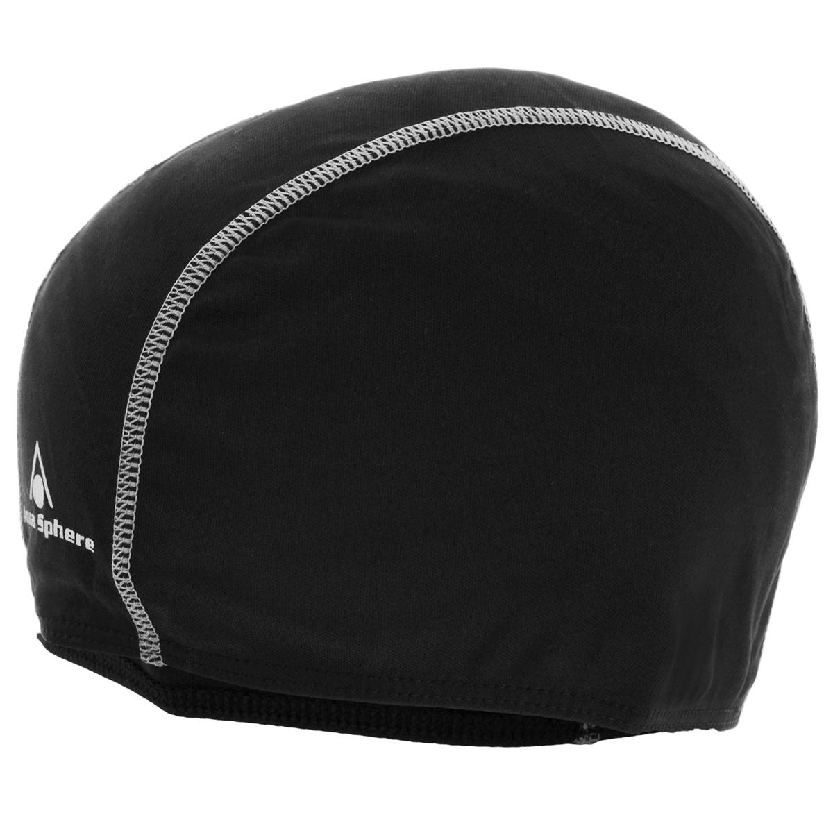 """Шапочка для плавания Aqua Sphere """"Easy Cap"""", взрослая, цвет: черный SP 946056"""