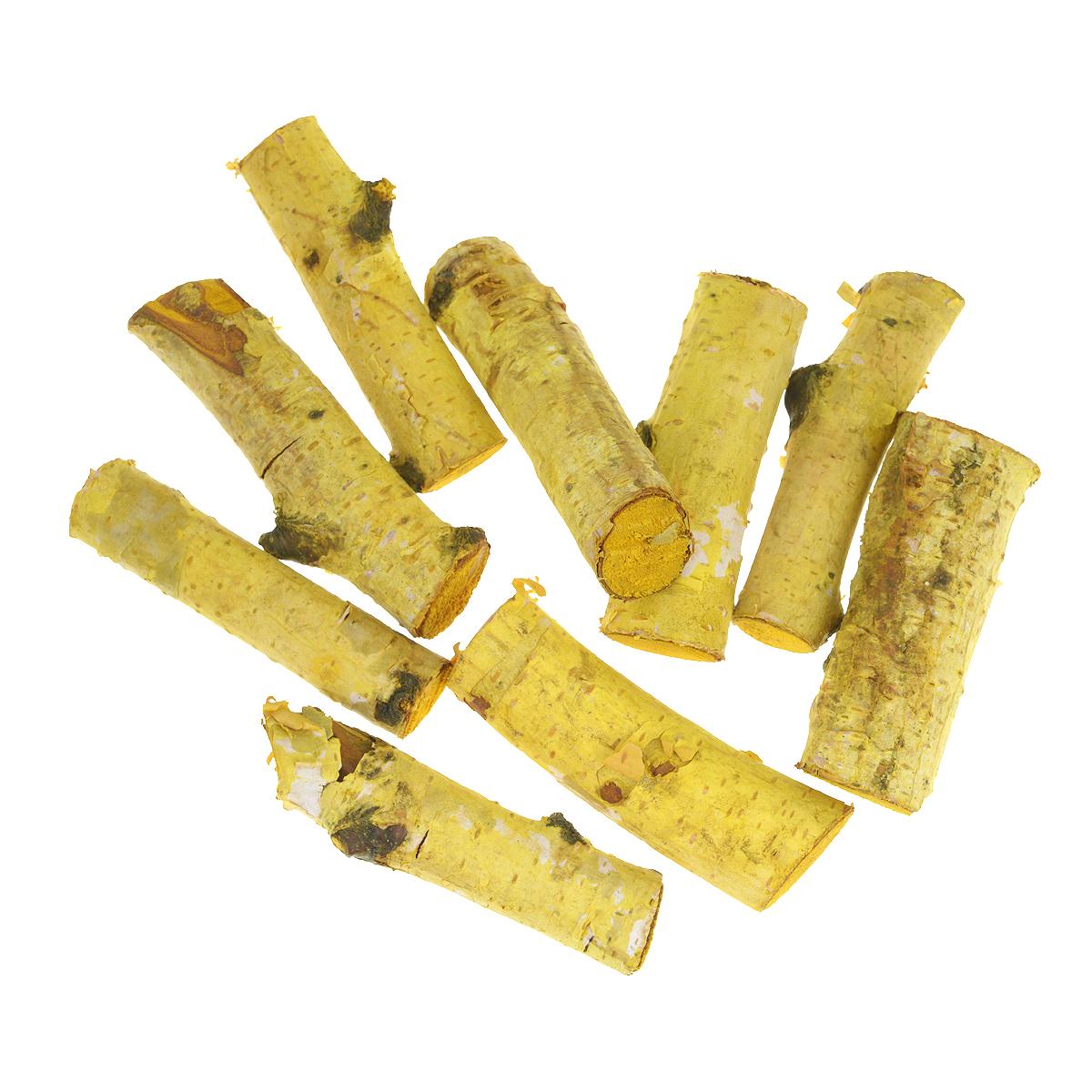 Декоративный элемент Dongjiang Art Ветка, цвет: желтый, длина 7 см, 250 г. 77089967708996Декоративный элемент Dongjiang Art Ветка изготовлен из дерева и предназначен для декорирования. Изделие может пригодиться во флористике и многом другом. Декоративный элемент представляет собой кусочек ветки. Флористика - вид декоративно-прикладного искусства, который использует живые, засушенные или консервированные природные материалы для создания флористических работ. Это целый мир, в котором есть место и строгому математическому расчету, и вдохновению, полету фантазии. Длина ветки: 7 см. Диаметр ветки: 1,3 см; 2 см.