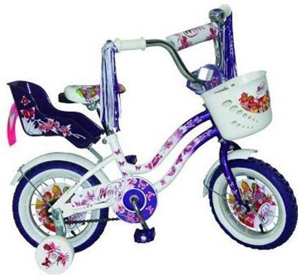 Велосипед детский Navigator Winx Purple/WhiteMHDR2G/AВелосипед Navigator Winx - двухколесный (12 дюймов), отлично подойдет для активной прогулки вашего ребенка, он стильный, изящный, яркий, обязательно придется по душе вашему малышу. Рассчитан на детишек от трех лет. Велосипед изготовлен из металла, что дает ему устойчивость к повреждениям. У велосипеда мягкое, регулируемое сиденье, боковые страховочные колесики, багажник и корзина на руле для различных принадлежностей вашего ребенка, защита цепи.