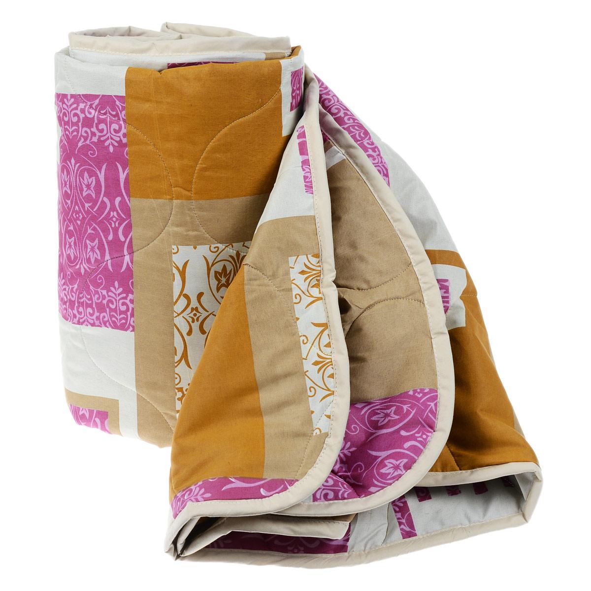 Одеяло всесезонное OL-Tex Miotex, наполнитель: полиэфирное волокно Holfiteks, цвет: коричневый, оранжевый, 172 см х 205 смМХПЭ-18-3 коричневый, оранжевыйВсесезонное одеяло OL-Tex Miotex создаст комфорт и уют во время сна. Стеганый чехол выполнен из полиэстера и оформлен красивым рисунком. Внутри - наполнитель из полиэфирного высокосиликонизированного волокна Holfiteks, упругий и качественный. Холфитекс - современный экологически чистый синтетический материал, изготовленный по новейшим технологиям. Его уникальность заключается в расположении волокон, которые позволяют моментально восстанавливать форму и сохранять ее долгое время. Изделия с использованием Холфитекса очень удобны в эксплуатации - их можно часто стирать без потери потребительских свойств, они быстро высыхают, не впитывают запахов и совершенно гиппоаллергенны. Холфитекс также обеспечивает хорошую терморегуляцию, поэтому изделия с наполнителем из холфитекса очень комфортны в использовании. Одеяло с наполнителем Холфитекс порадует вас в любое время года. Оно комфортно согревает и создает отличный микроклимат. За одеялом легко ухаживать, можно стирать в...