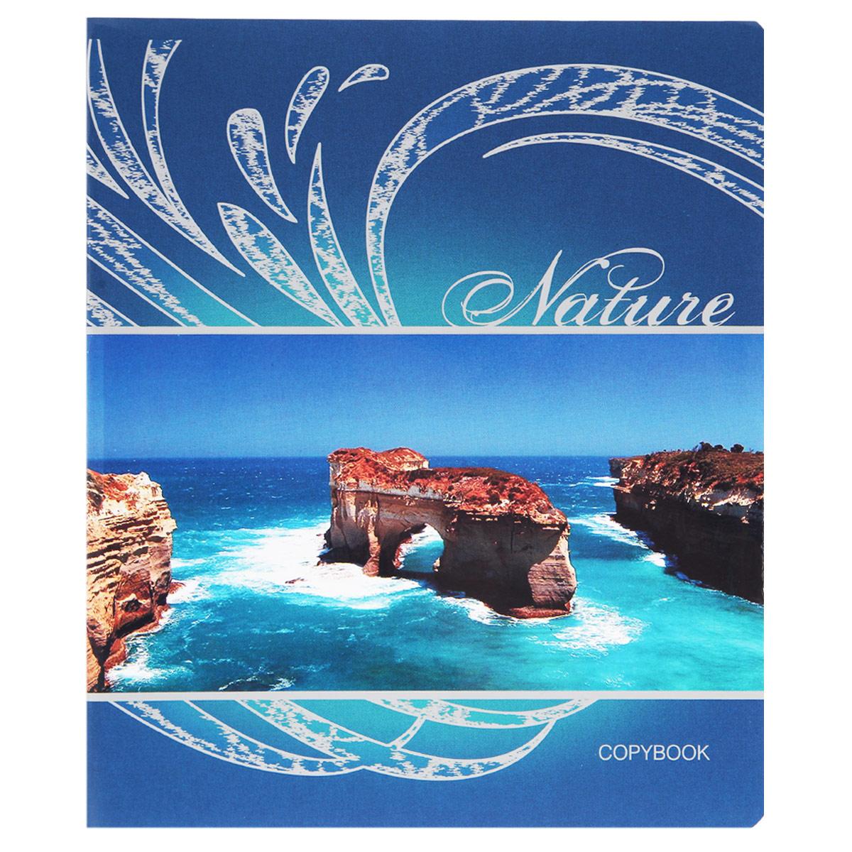 Тетрадь Blue Lagoon, 48 листов, формат А5, цвет: синий, рисунок 2652-SBТетрадь в клетку Blue Lagoon подойдет как студенту, так и школьнику. Обложка тетради с закругленными углами выполнена из плотной бумаги. На обложке красочное изображение природы. Внутренний блок состоит из 48 листов белой бумаги. Стандартная линовка в клетку дополнена полями, совпадающими с лицевой и оборотной стороны листа.