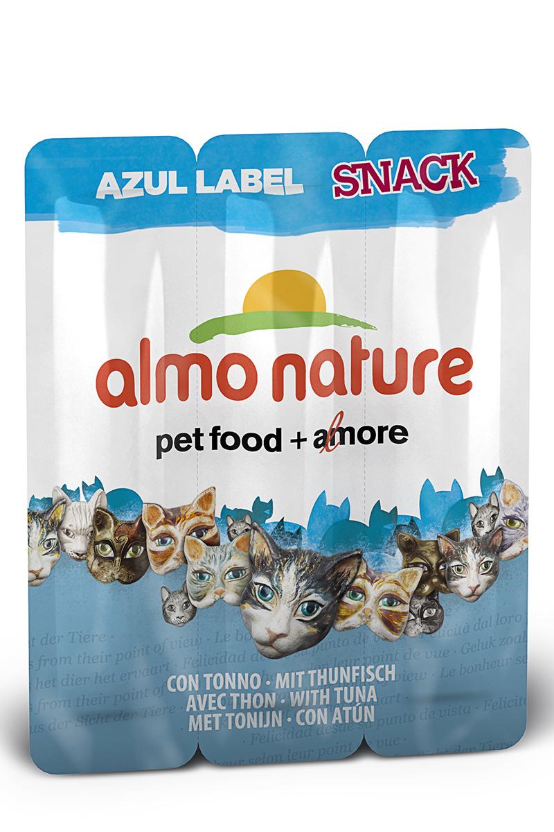 Лакомство для кошек Almo Nature Колбаски, с тунцом, 3 шт, 15 г22601Лакомство для кошек Almo Nature Колбаски - это филе высококачественного мяса рыбы, приготовленное в собственном бульоне (24%), без искусственных добавок, красителей. Именно такой простой и естественный состав привлекает кошек. Лакомство идеально подходит для поощрения вашей кошки в интервалах между трапезами. Лакомство для кошек Almo Nature Колбаски - это всецело натуральные продукты, который обладает индивидуальным содержанием витаминов, минеральных веществ и таурина. Состав: филе тунца, куриное филе, говядина, рис, куриная печень, яйцо, глютен, экстракт дрожжей, рыбный экстракт, сахар, куриный жир, соль. Товар сертифицирован.