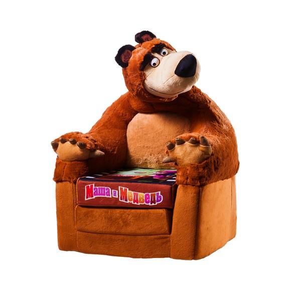 Кресло Маша и Медведь раскладывающееся