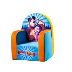 Кресло с чехлом Маша и Медведь с музыкальным элементом 53*41*322045М/ГЛ/53
