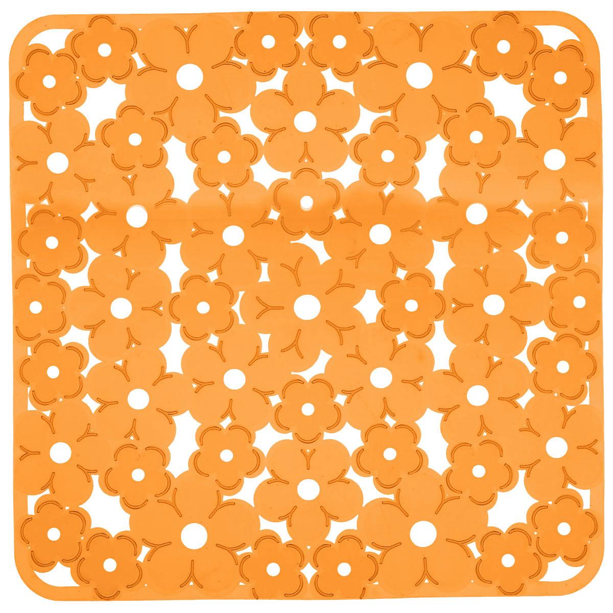 Коврик для раковины Metaltex, цвет: оранжевый, 32 х 32 см28.75.38Коврик для раковины Metaltex изготовлен из ПВХ с цветочным рисунком. Коврик имеет квадратную форму, поэтому прекрасно подойдет для любых раковин. Такой коврик защитит вашу посуду во время мытья, а также предотвратит засор труб, задерживая остатки пищи. Товар сертифицирован.