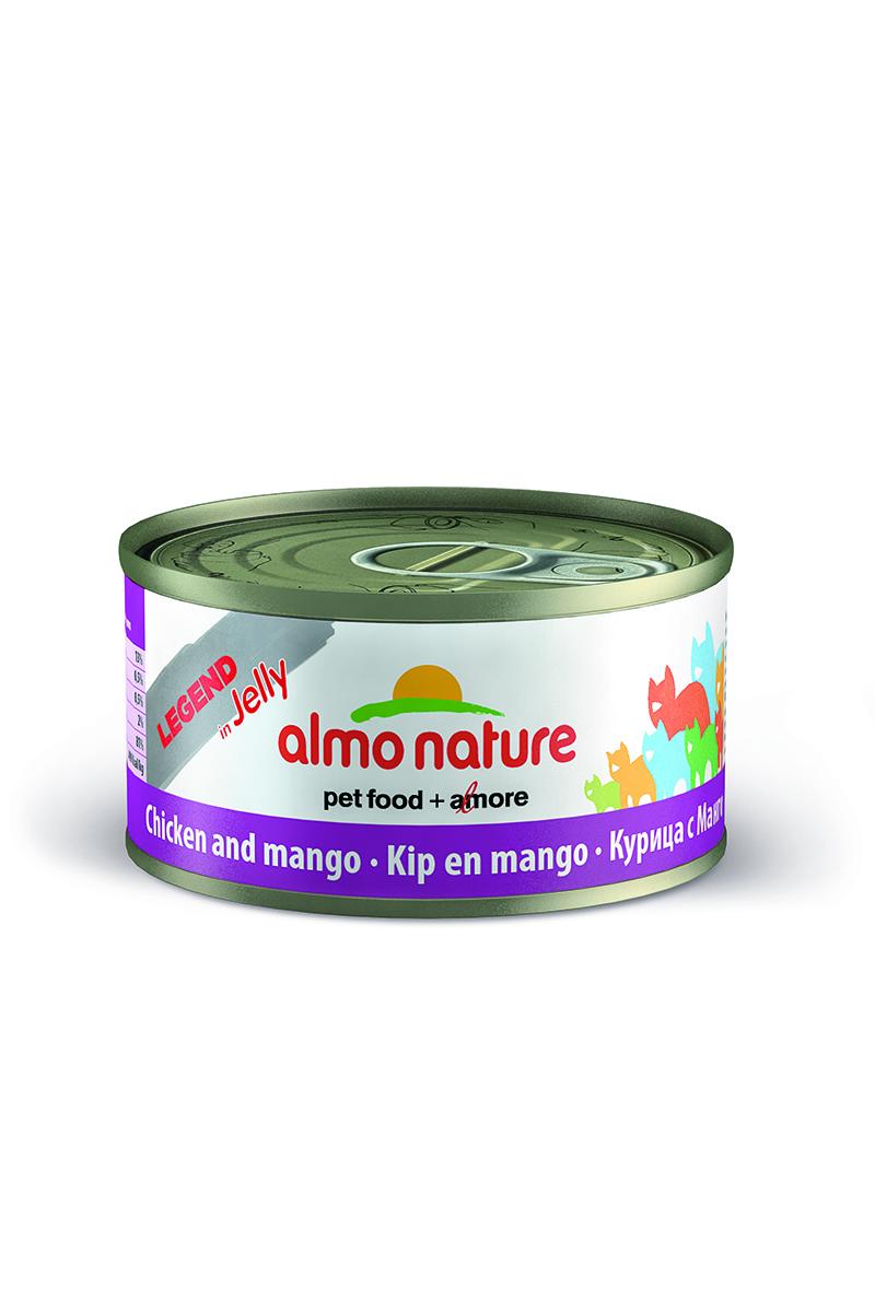 """Консервы для кошек Almo Nature """"Legend"""", с курицей и манго, 70 г 24497"""